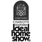 Charlotte Southern Ideal Home Show black and white logo