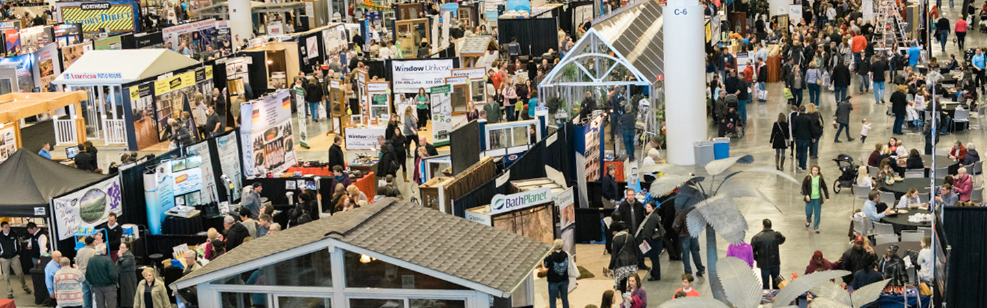 Crowd at a home show
