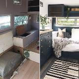 Tiny Home Interior Before and After Photos