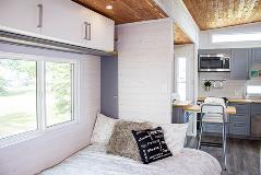 Inside of Tiny Home - Bedroom