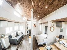 Inside of Tiny Home - View From Kitchen