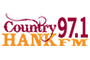 Country 97.1 HANK FM logo
